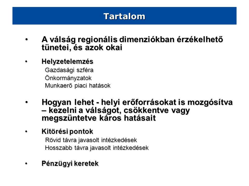 Észak-Magyarország Regionális Válságkezelési Terv 2009