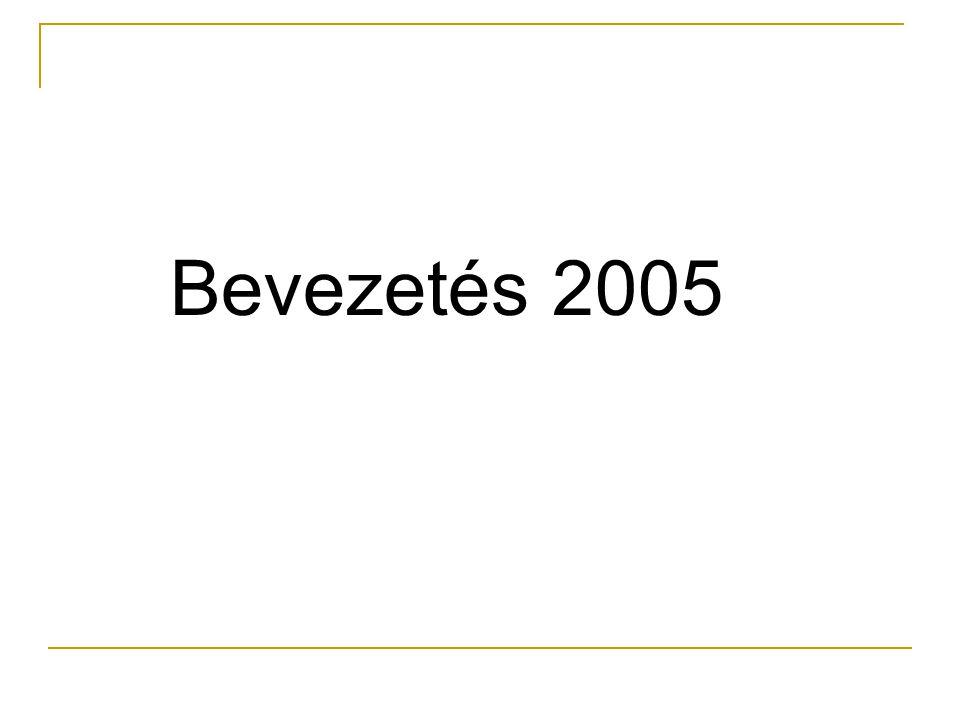 Bevezetés 2005