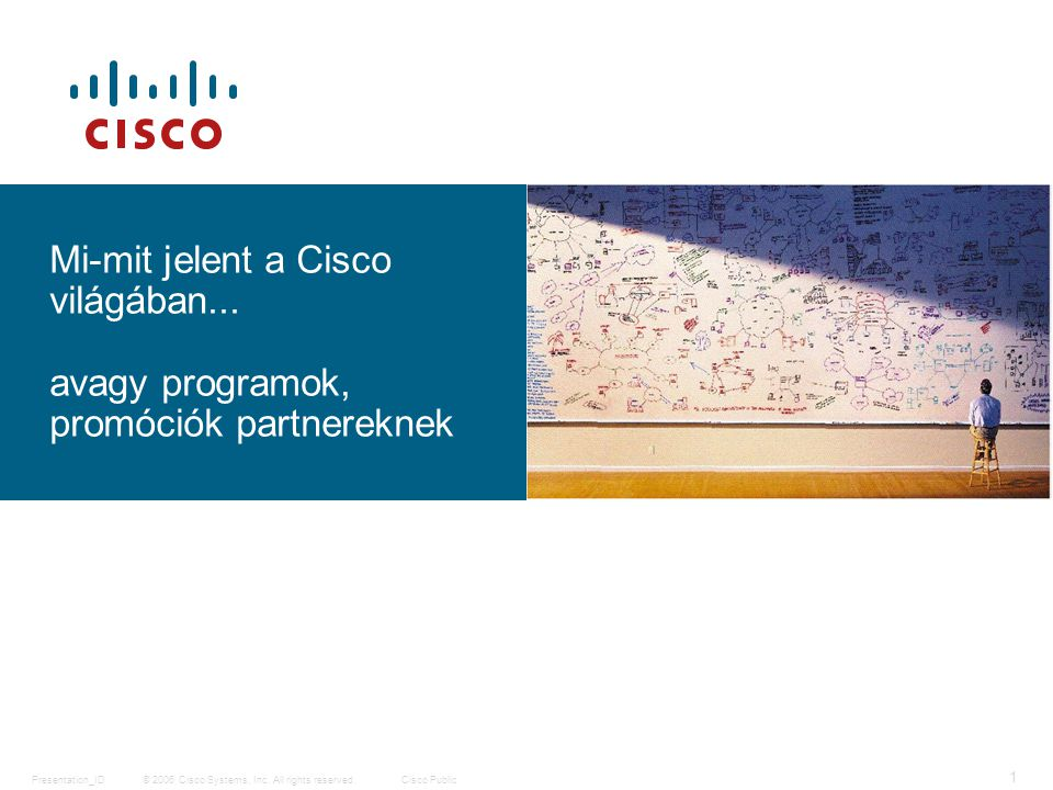 © 2006 Cisco Systems, Inc. All rights reserved.Cisco PublicPresentation_ID 1 Mi-mit jelent a Cisco világában... avagy programok, promóciók partnerekne