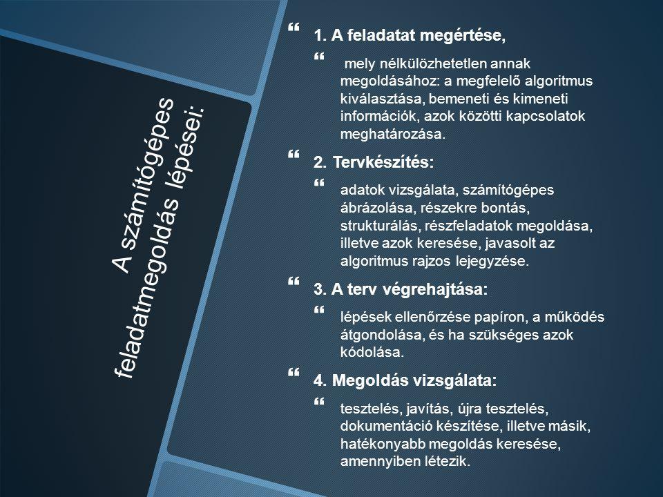Informatika szerepe Kommunikációs eszköz Kommunikációs eszköz Információs eszköz Információs eszköz Oktatási eszköz Oktatási eszköz Tanulási eszköz Tanulási eszköz Informatika: fejlesztő, motiváló, mérő eszköz