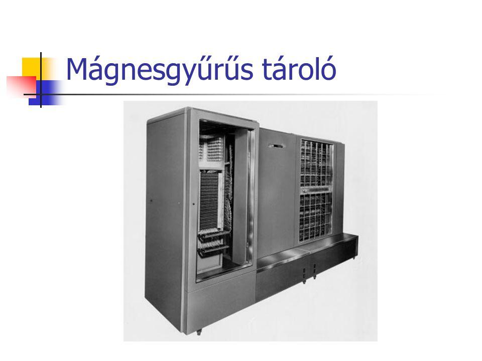 Mágnesgyűrűs tároló