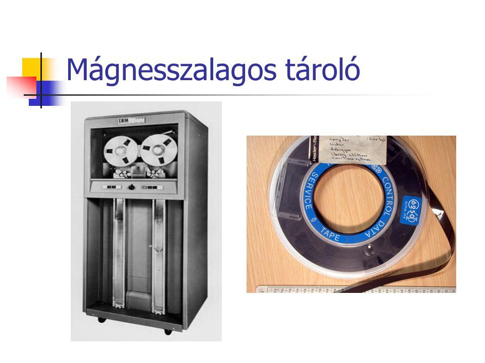 Mágnesszalagos tároló