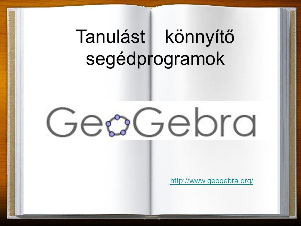Mi is az a GeoGebra.