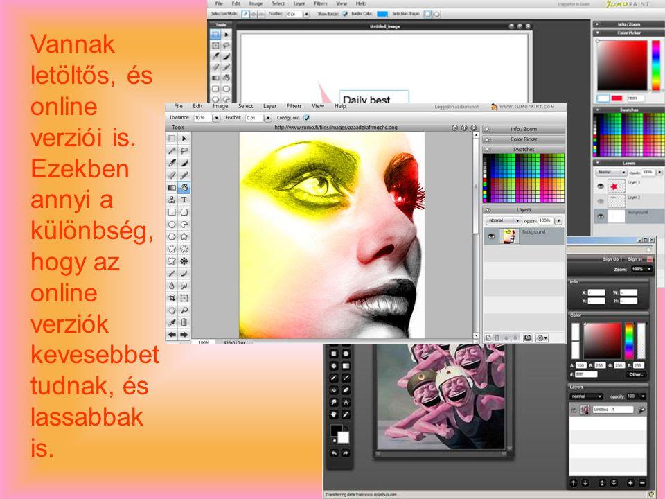 -Legújabb verziója az Adobe Photoshop CS5.