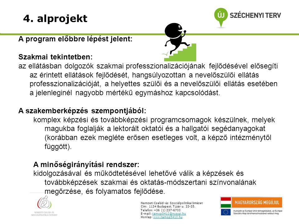 Nevelőszülő képzés felépítése: Alapmodul A modul célja az, hogy a hallgató megismerje a nevelőszülői tevékenység speciális feladatait.