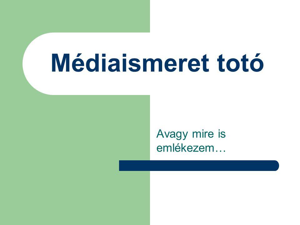11.Kik a kapuőrök a médiában. 1 a sportközvetítések (pl.