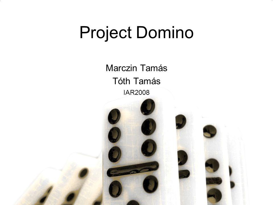 Project Domino Marczin Tamás Tóth Tamás IAR2008