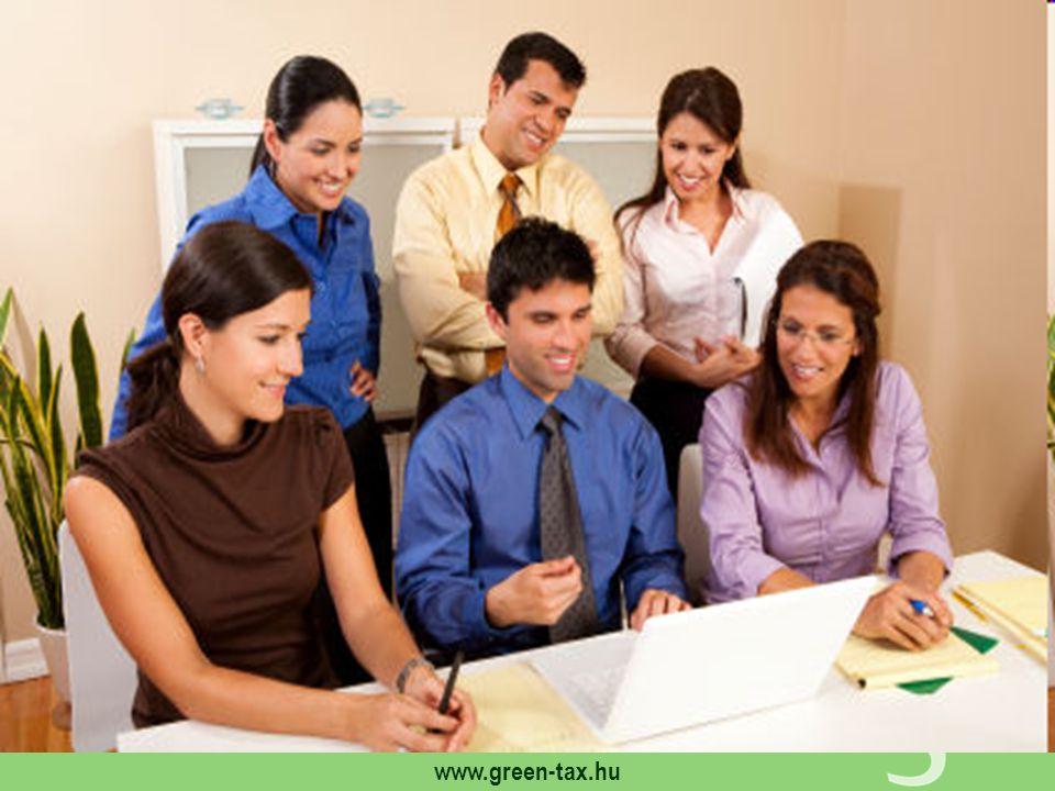 www.green-tax.hu Áttekintés Számlán feltüntetés