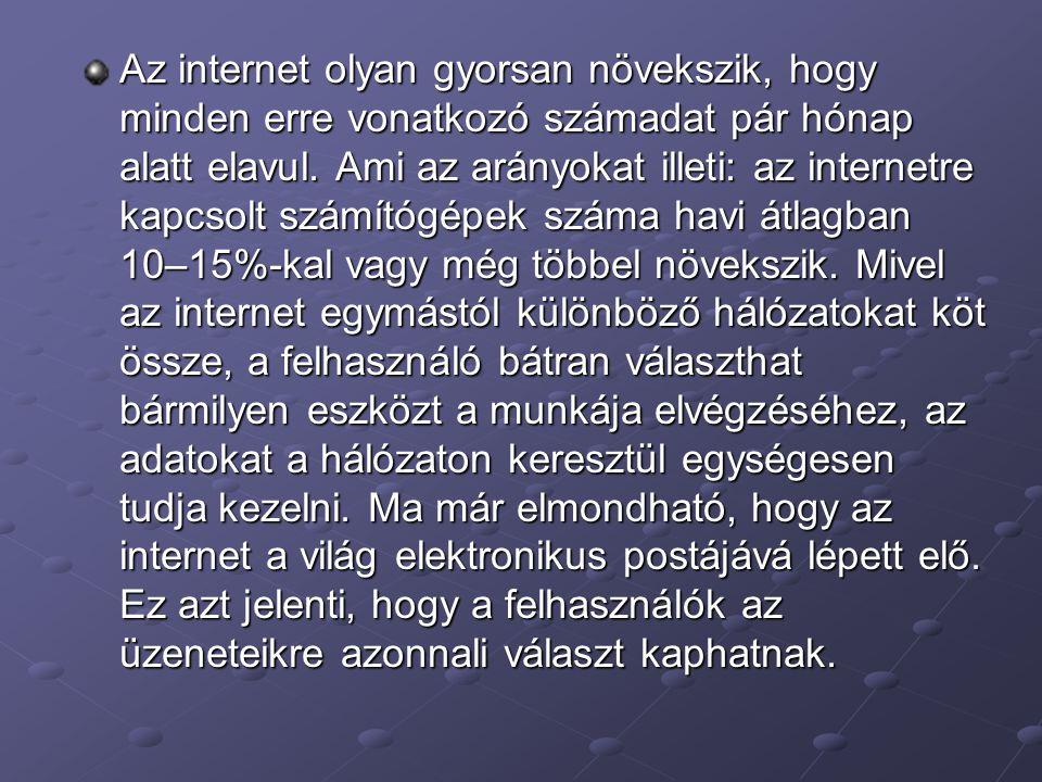 Az internetnek nincs központi épülete.