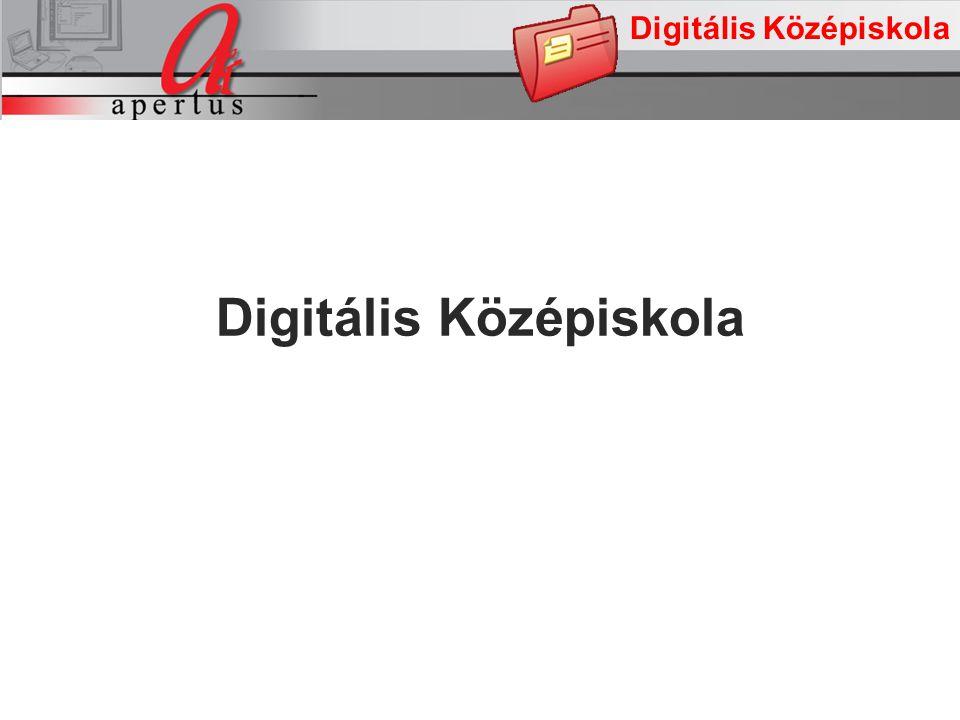 Digitális Középiskola