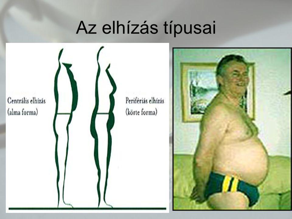 Az elhízás típusai
