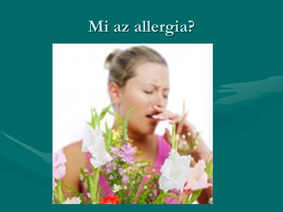 Mi az allergia
