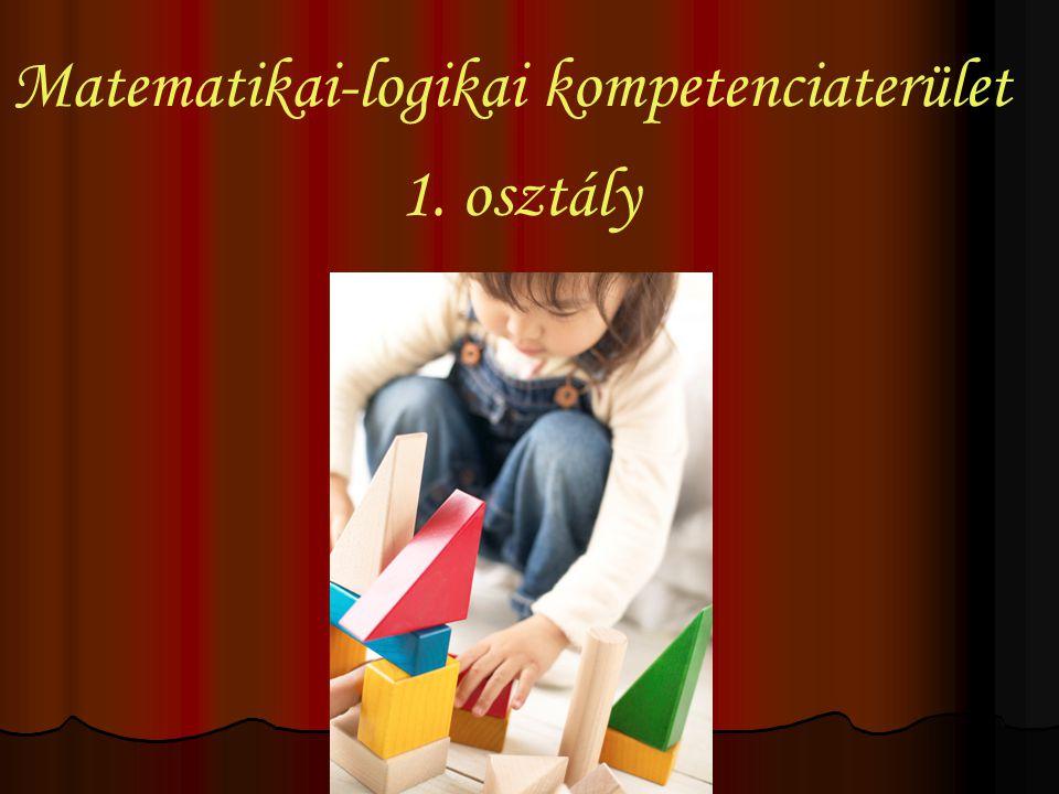 Matematikai-logikai kompetenciaterület 1. osztály
