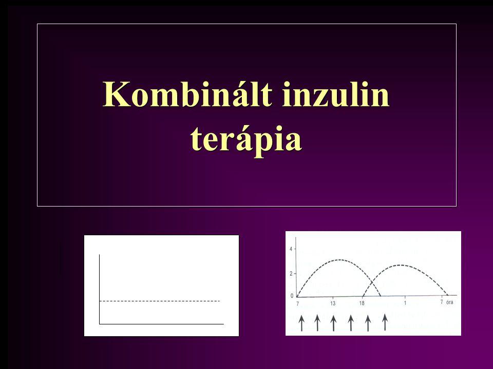 Kombinált inzulin terápia
