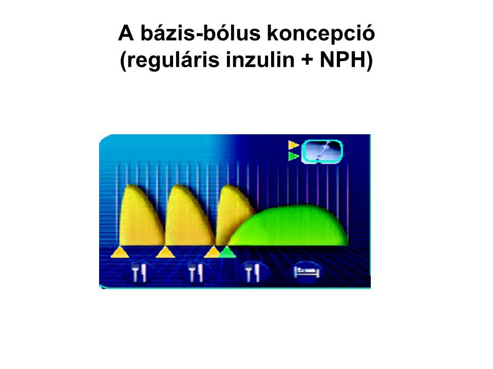 Gyorshatású inzulinanalógok Lispro-inzulin, aspart-inzulin, glulisin Farmakodinámiai jellegzetességük egymáshoz igen közel esik.