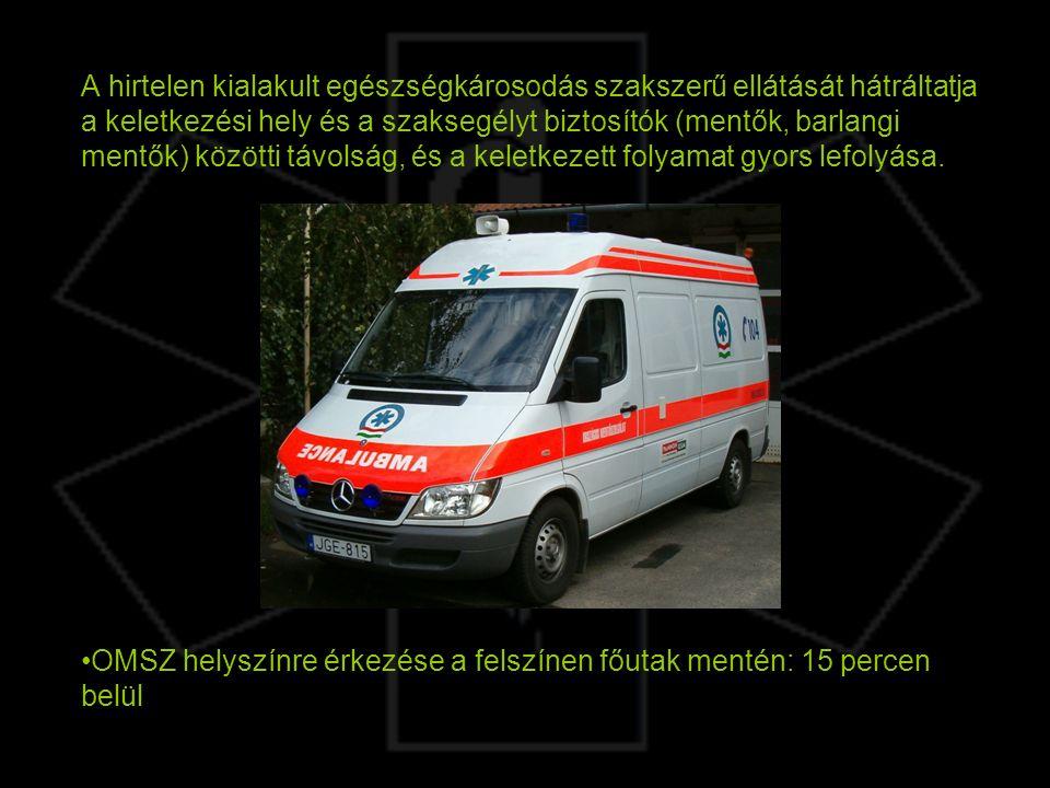 A hirtelen kialakult egészségkárosodás szakszerű ellátását hátráltatja a keletkezési hely és a szaksegélyt biztosítók (mentők, barlangi mentők) között