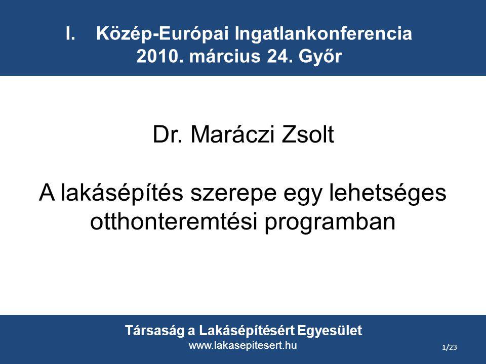 I.Közép-Európai Ingatlankonferencia 2010. március 24.
