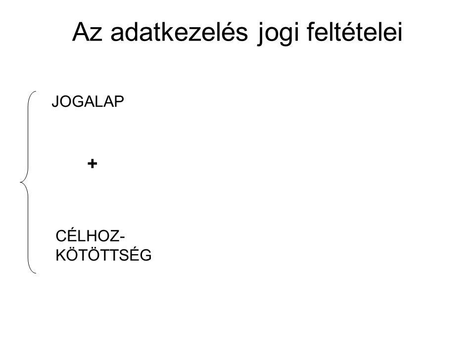 JOGALAP CÉLHOZ- KÖTÖTTSÉG +