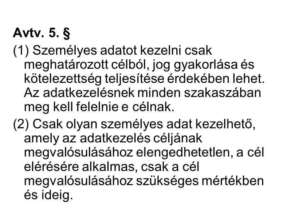 Avtv. 5.