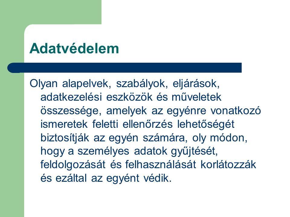 Ismeret – adat – információ Dr.
