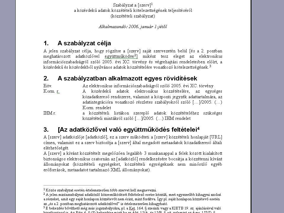 Az adatvédelmi biztos értesítésének kötelezettsége 1.