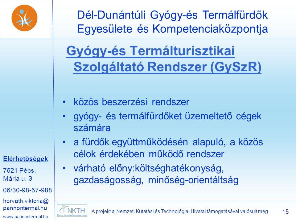 Elérhetőségek: 7621 Pécs, Mária u.