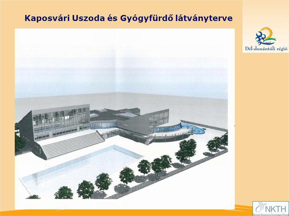 Kaposvári Uszoda és Gyógyfürdő látványterve