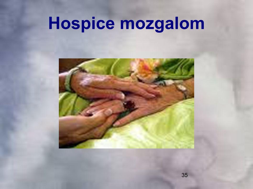 35 Hospice mozgalom