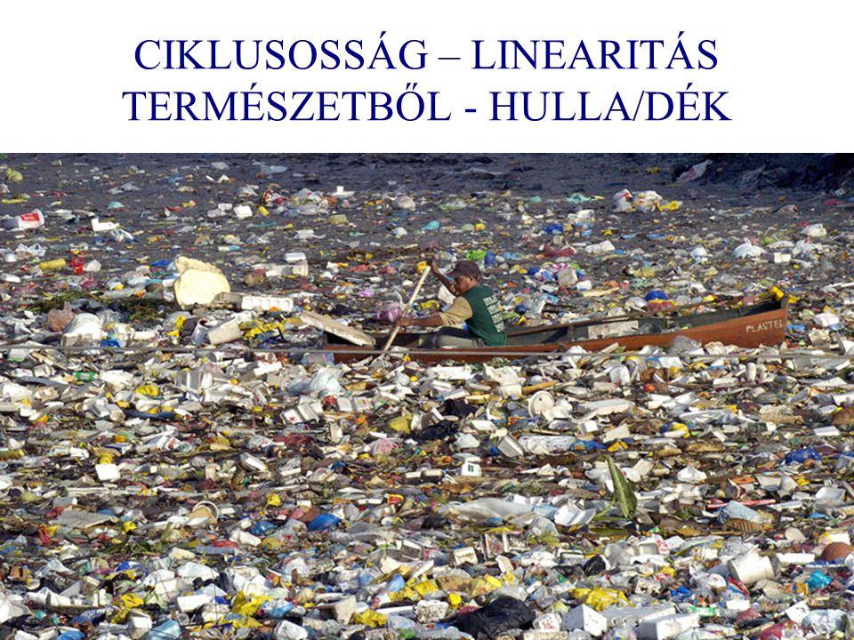 CIKLUSOSSÁG – LINEARITÁS TERMÉSZETBŐL - HULLA/DÉK