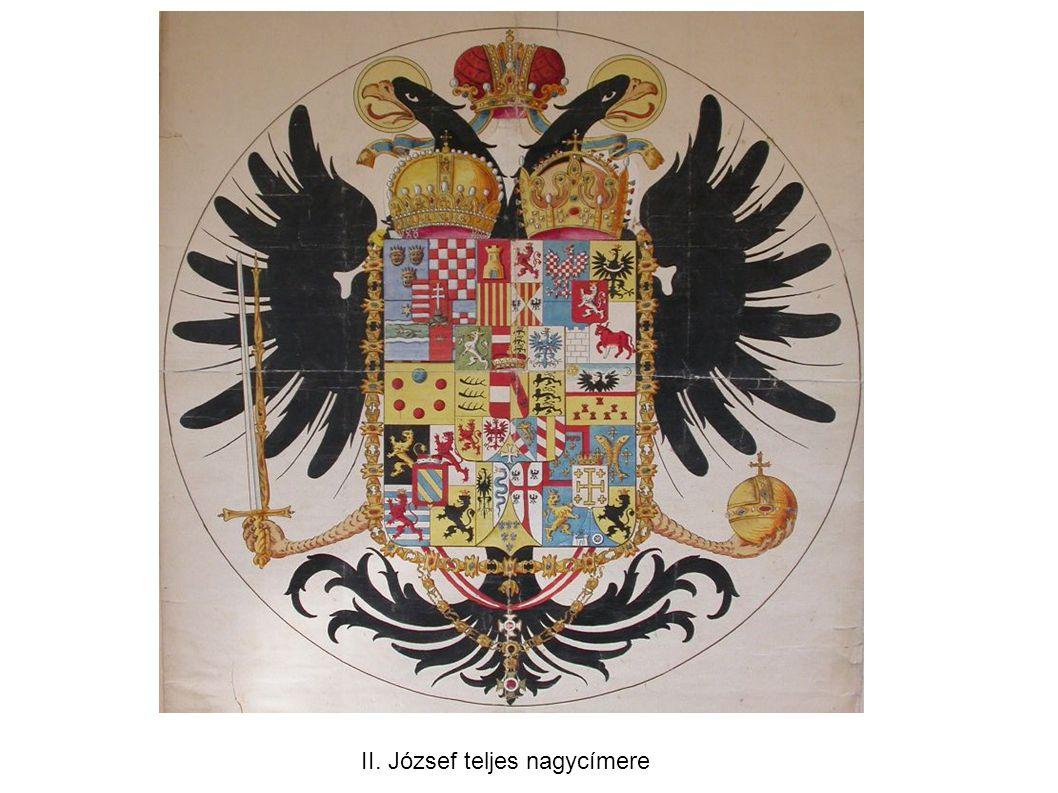 II. József teljes nagycímere