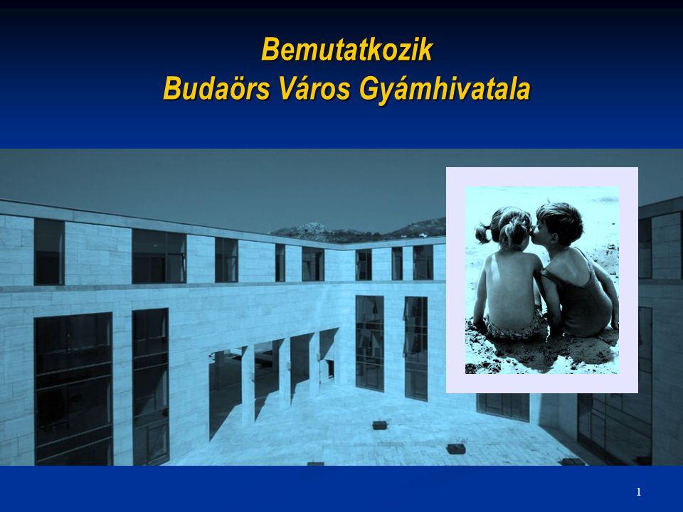 1 Bemutatkozik Budaörs Város Gyámhivatala