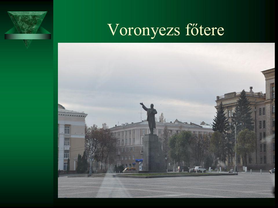 Voronyezs főtere