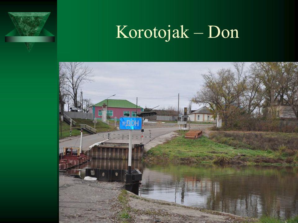 Korotojak – Don