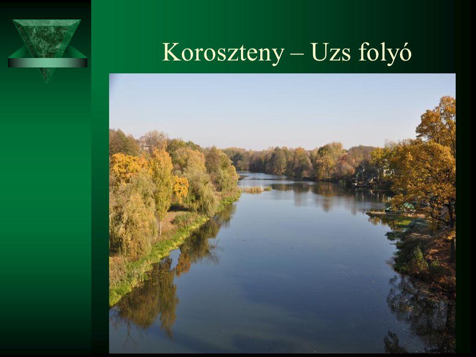 Koroszteny – Uzs folyó