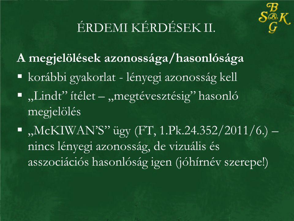 ÉRDEMI KÉRDÉSEK II.