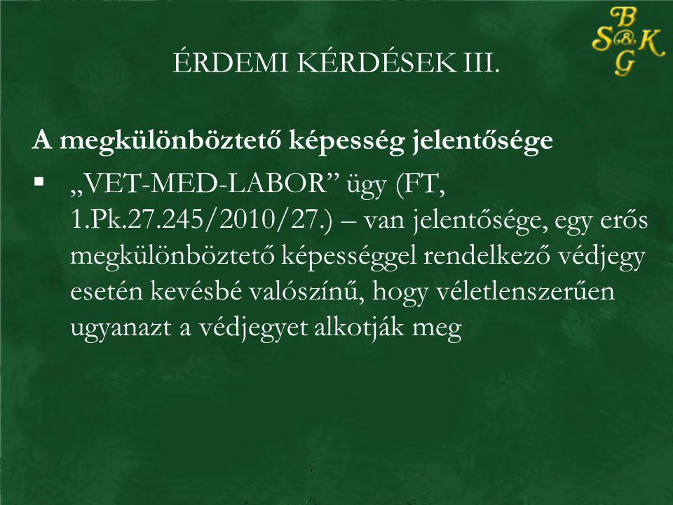 ÉRDEMI KÉRDÉSEK III.