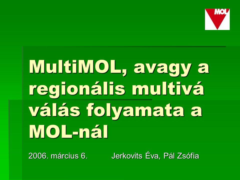 MultiMOL, avagy a regionális multivá válás folyamata a MOL-nál 2006.
