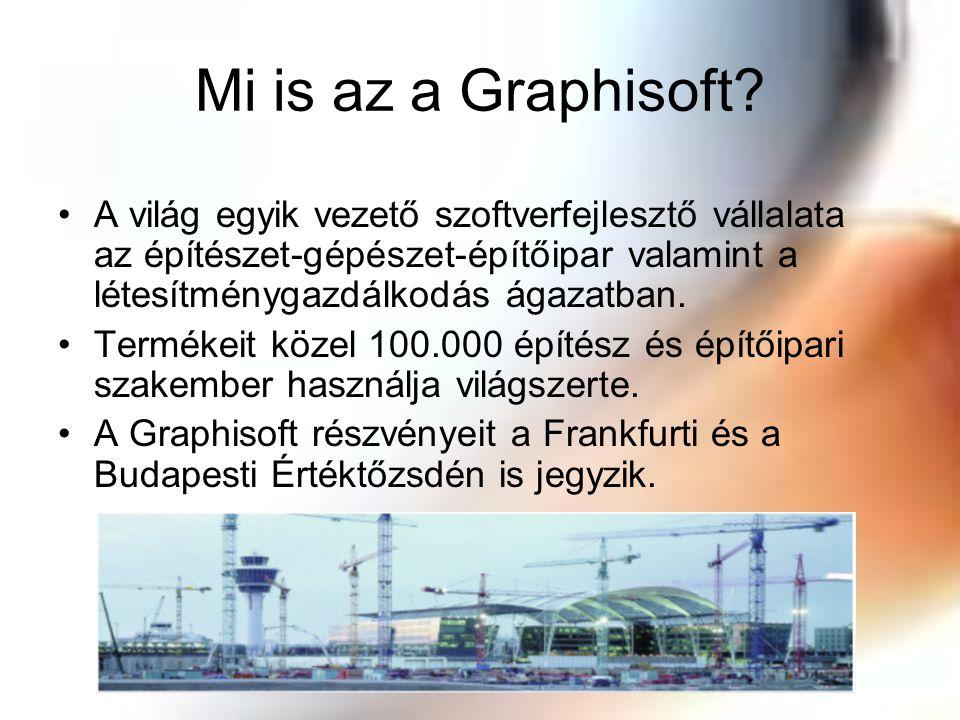Mi is az a Graphisoft? A világ egyik vezető szoftverfejlesztő vállalata az építészet-gépészet-építőipar valamint a létesítménygazdálkodás ágazatban. T