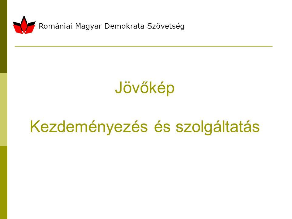 Romániai Magyar Demokrata Szövetség Jövőkép Kezdeményezés és szolgáltatás