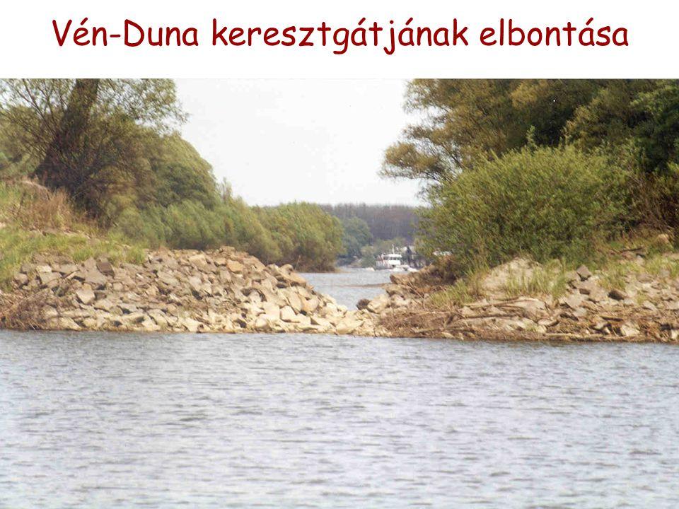 Vén-Duna keresztgátjának elbontása