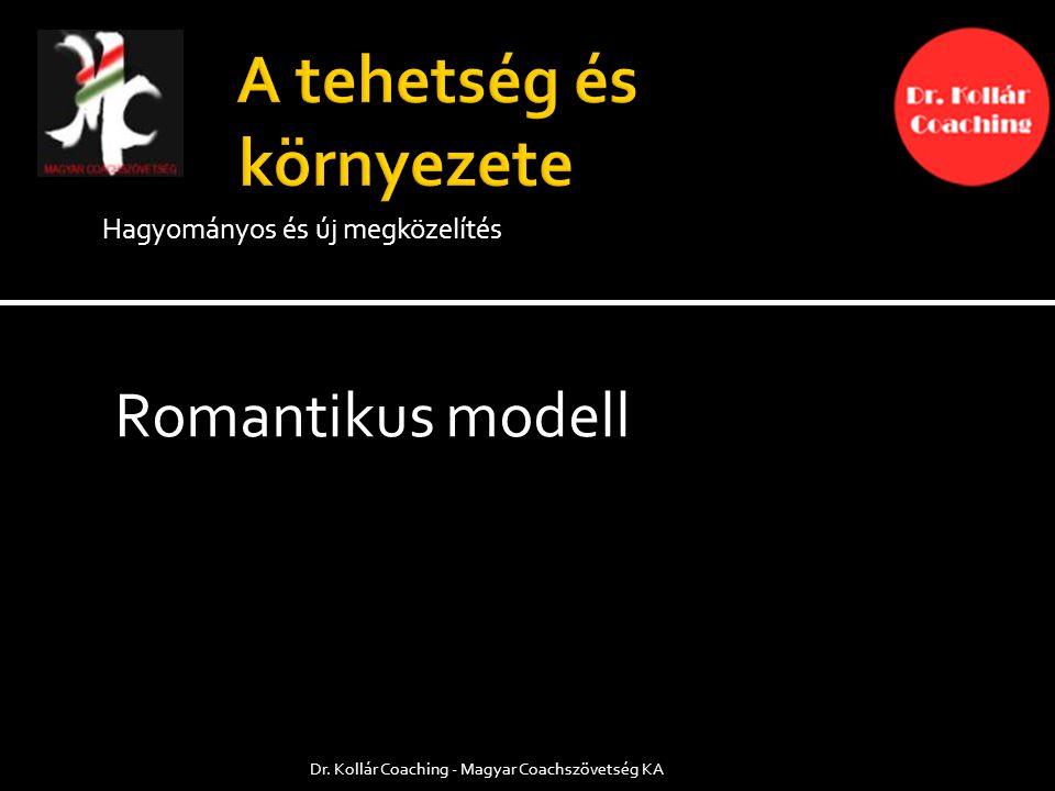 Hagyományos és új megközelítés Romantikus modell Dr. Kollár Coaching - Magyar Coachszövetség KA