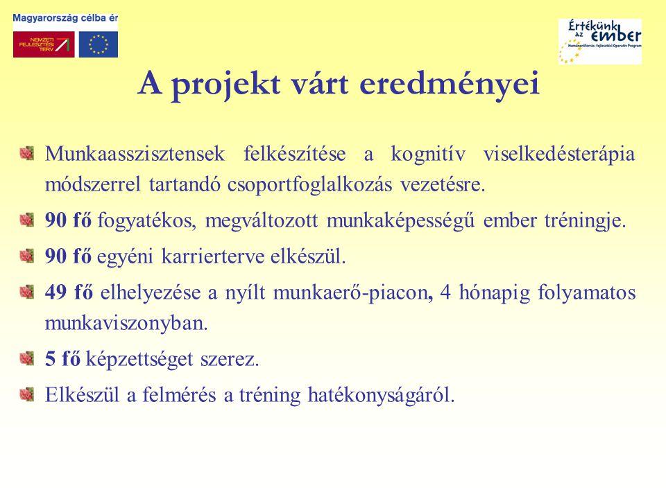 Köszönöm a figyelmet.Pántya Erika projektmenedzser Regionális Szociális Forrásközpont Kht.
