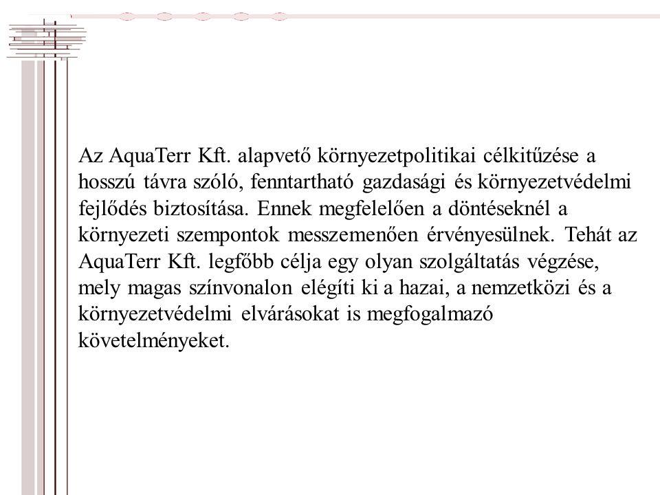 Az AquaTerr Kft.