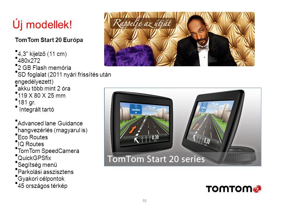 10 TomTom Start 20 Európa 4,3