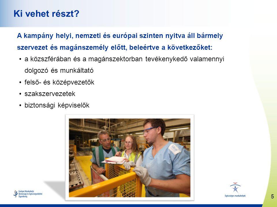 6 www.healthy-workplaces.eu Hogyan vehet részt.