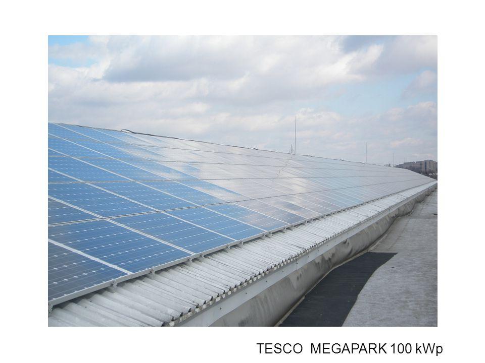 TESCO MEGAPARK 100 kWp