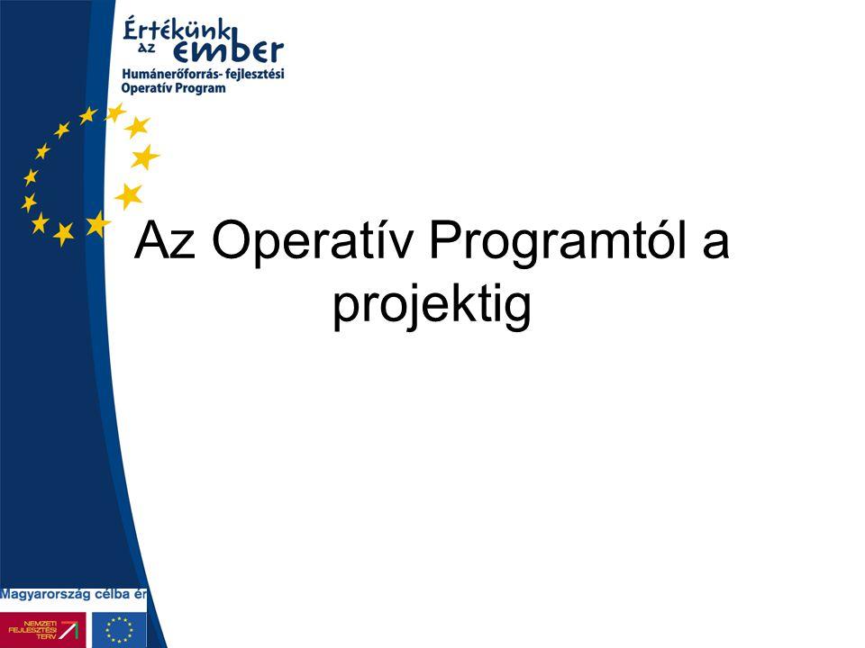 Az Operatív Programtól a projektig