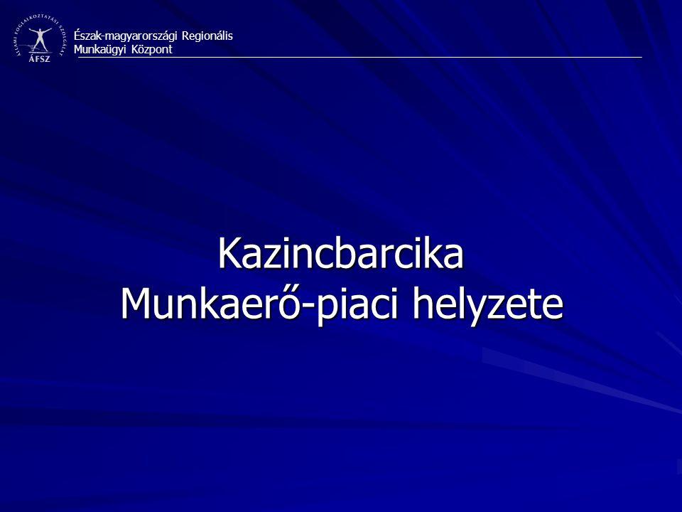 Észak-magyarországi Regionális Munkaügyi Központ A Munkaügyi Központ feladata és lehetőségei/eszközrendszere: 1) a foglalkoztatás szintjének növelése 2) a foglalkoztathatóság szintjének növelése 3) a munkaerő-piaci kereslet-kínálat összhangjának javítása, tekintettel a területi egyenlőtlenségek mérséklésére és az esélyegyenlőség biztosítására 4) a partnerségek erősítése