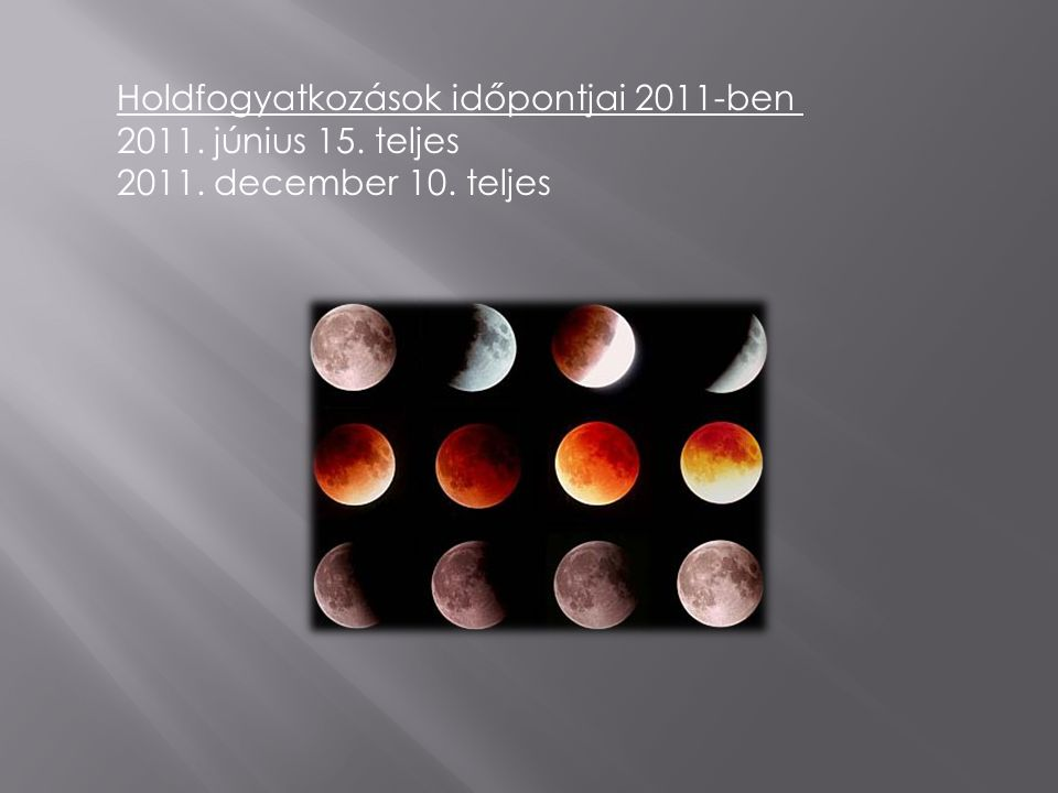 A holdfogyatkozás csillagászati jelenség, amelynek során a Hold részben vagy egészen a Föld árnyékába kerül. Akkor jön létre, ha a Föld a Nap és a Hol