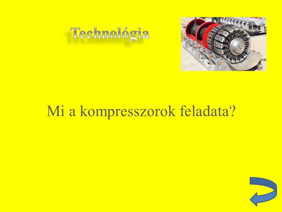 Mi a kompresszorok feladata?